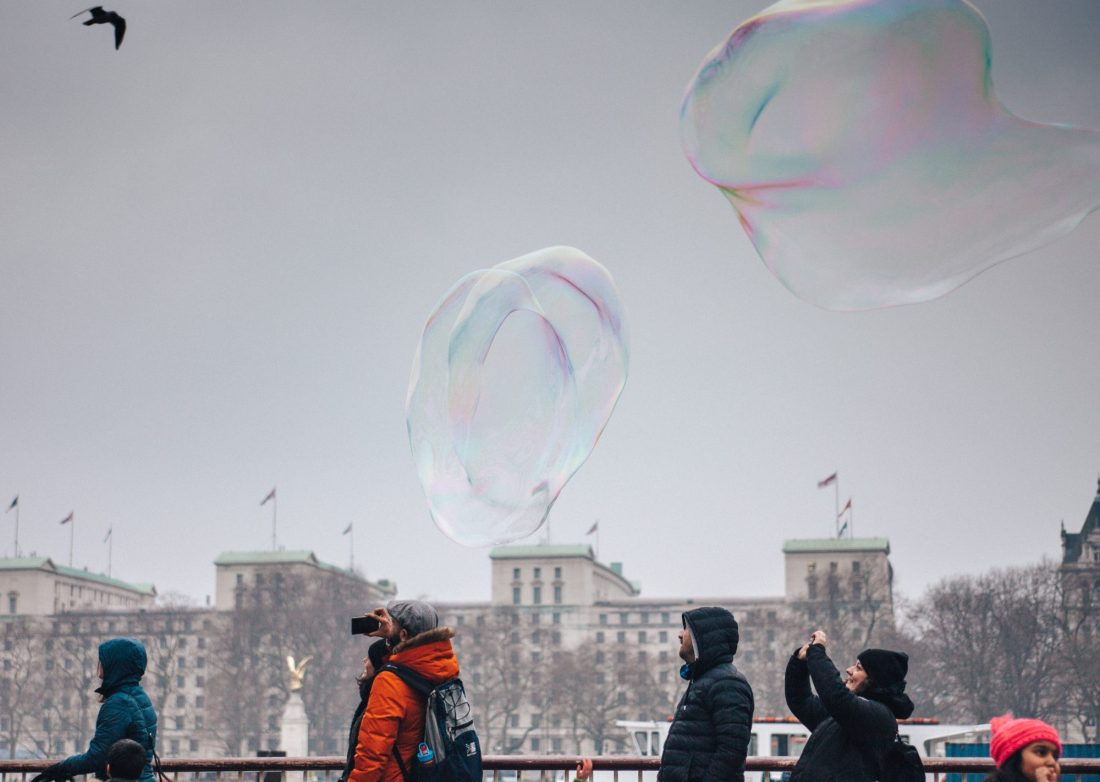 Bubbles by Clem Onojeghuo on Unsplash
