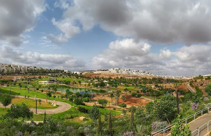 A view of Park Annabe in Modi'in Maccabim Reut