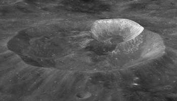 Crater on the Moon named Wargo Crater