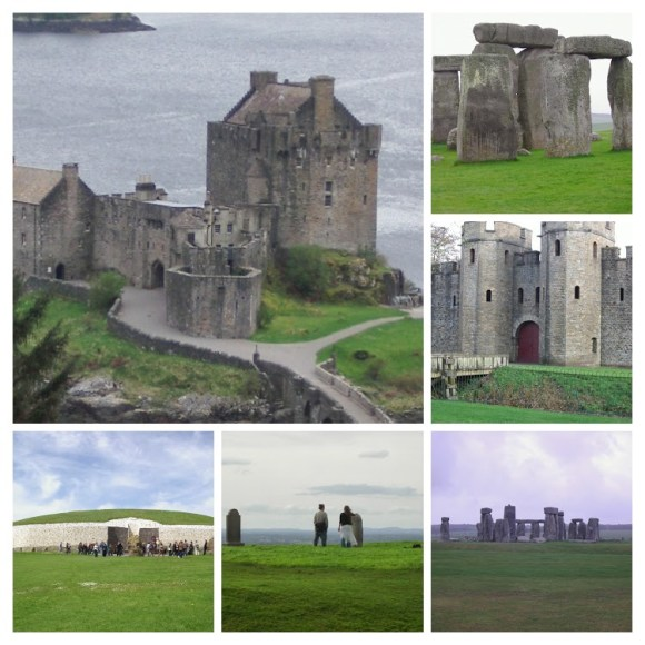 Collage from my UK and Ireland trip in 2004