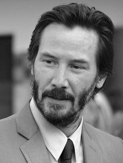 Keanu Reeves at the 41st American Film Festival.