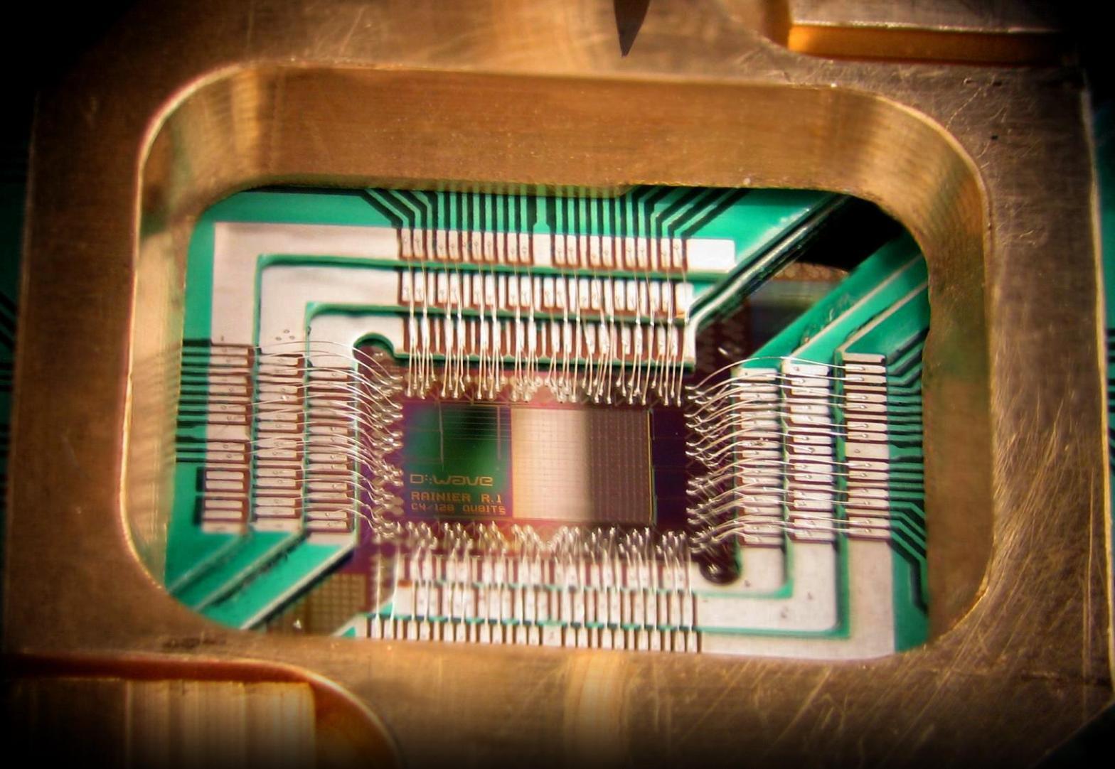 DWave 128 chip