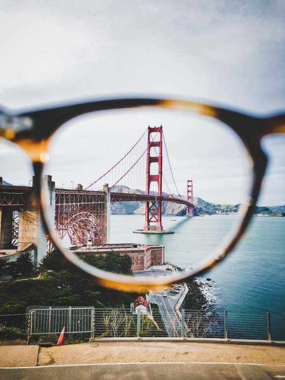 Photo looking through glasses by Saketh Garuda on Unsplash