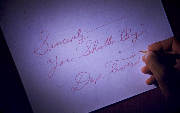 Attu Alaska Sincerely Yours - letter