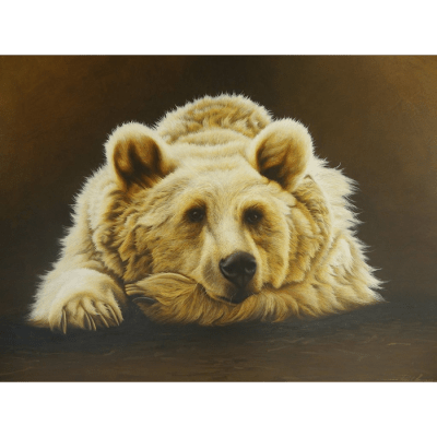 browned off paul james bear artwork