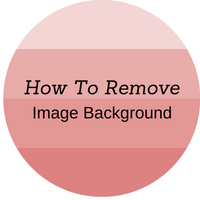 how to remove image from background