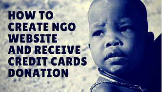 How to create ngo website
