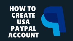 how to create a usapaypal account f