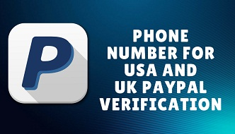 phone number for usa and uk paypal verification