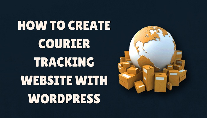 how to create tracking website main