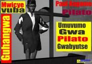 Zombie Paul Kagame arrives for breakfast Sermon