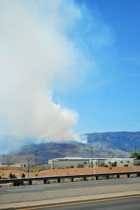 12:04 PM Hunter Falls fire from Reno