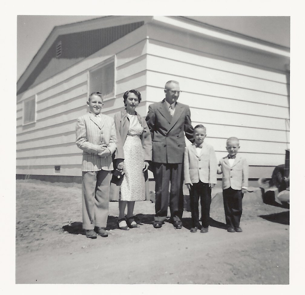 The Kiser Family in 1957