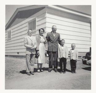 The Kiser Family in 1957