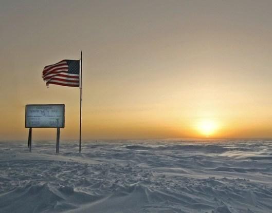 South Pole sunrise