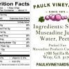 Paulk Vineyard Jelly Label Back