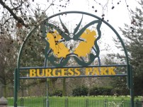 Burgess Park, along the way to the bus-stop