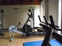 New Gym - Bikes and Rowers