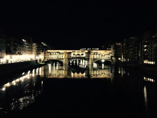 Ponte Vecchio at night, Florence