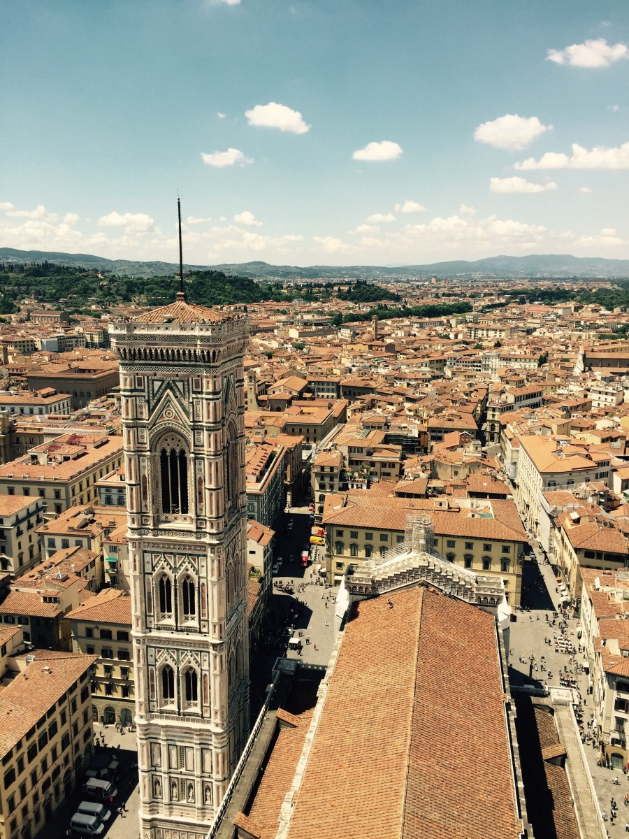 View from Duomo, Florence