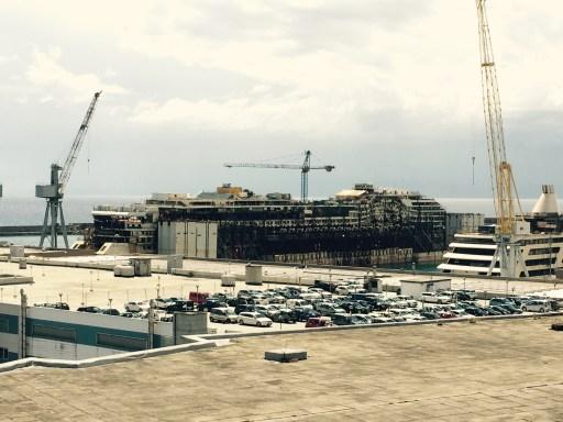 Decommissioning of the Costa Concordia