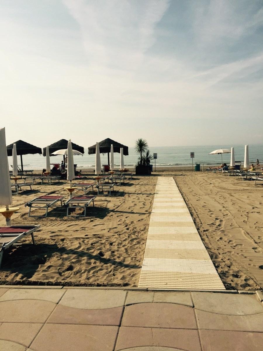 Jesole beachfront, Italy