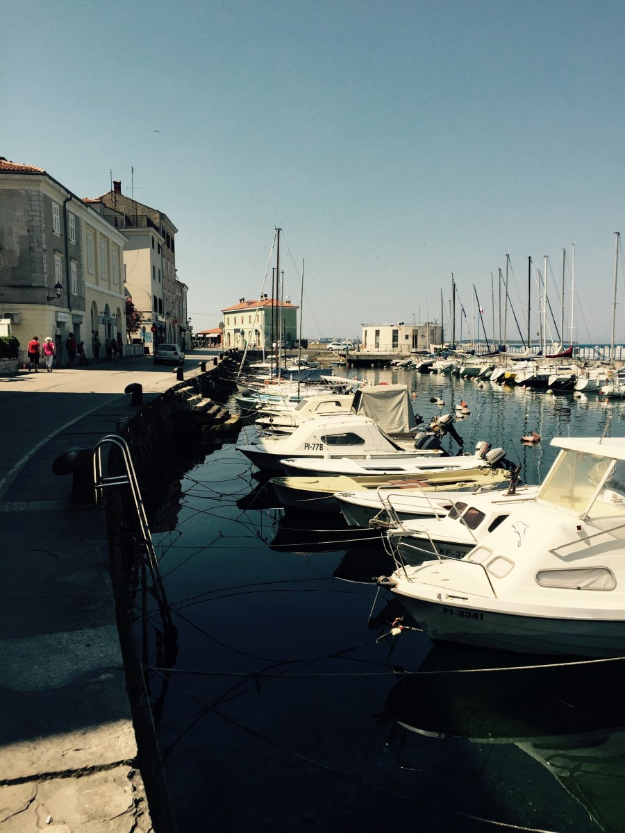 Piran harbour, Slovenia