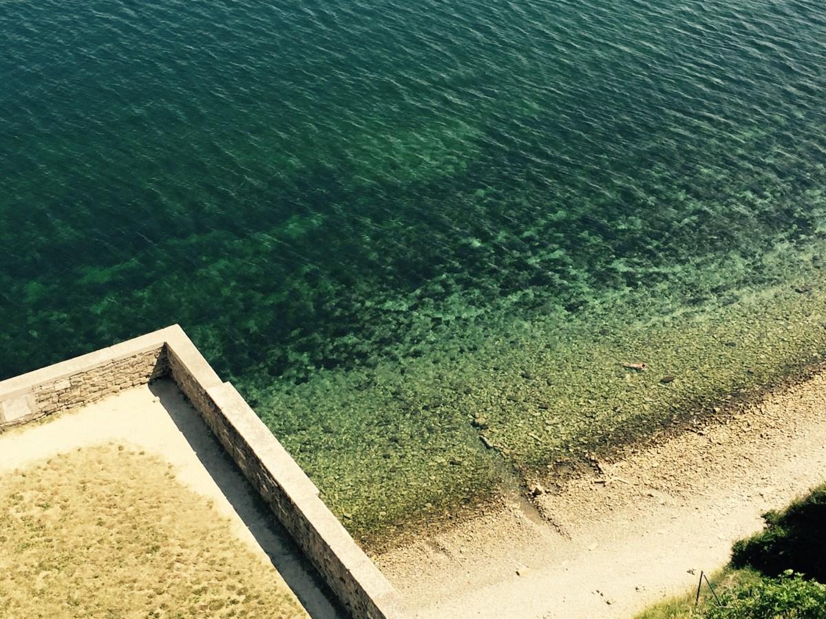 Swimmer Piran, Slovenia