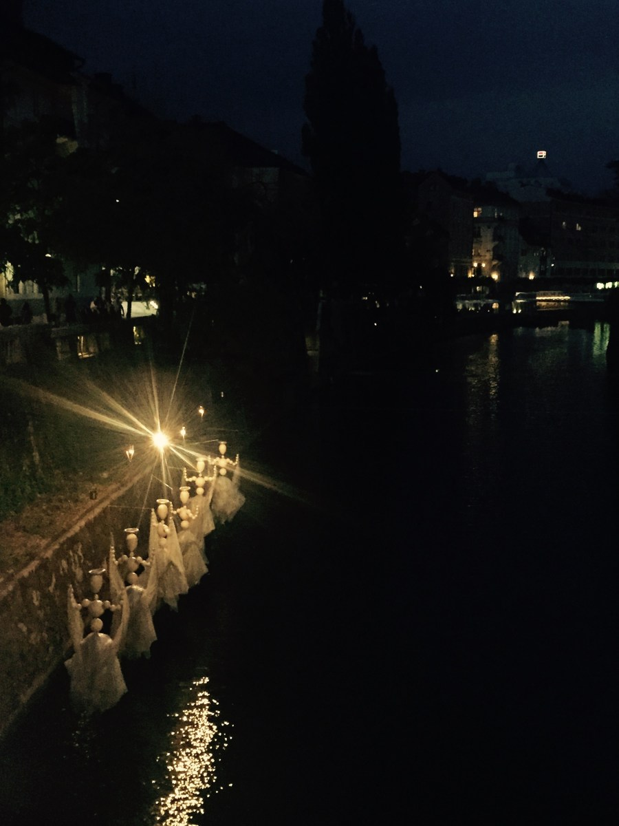 Angels by the river, Ljubljana