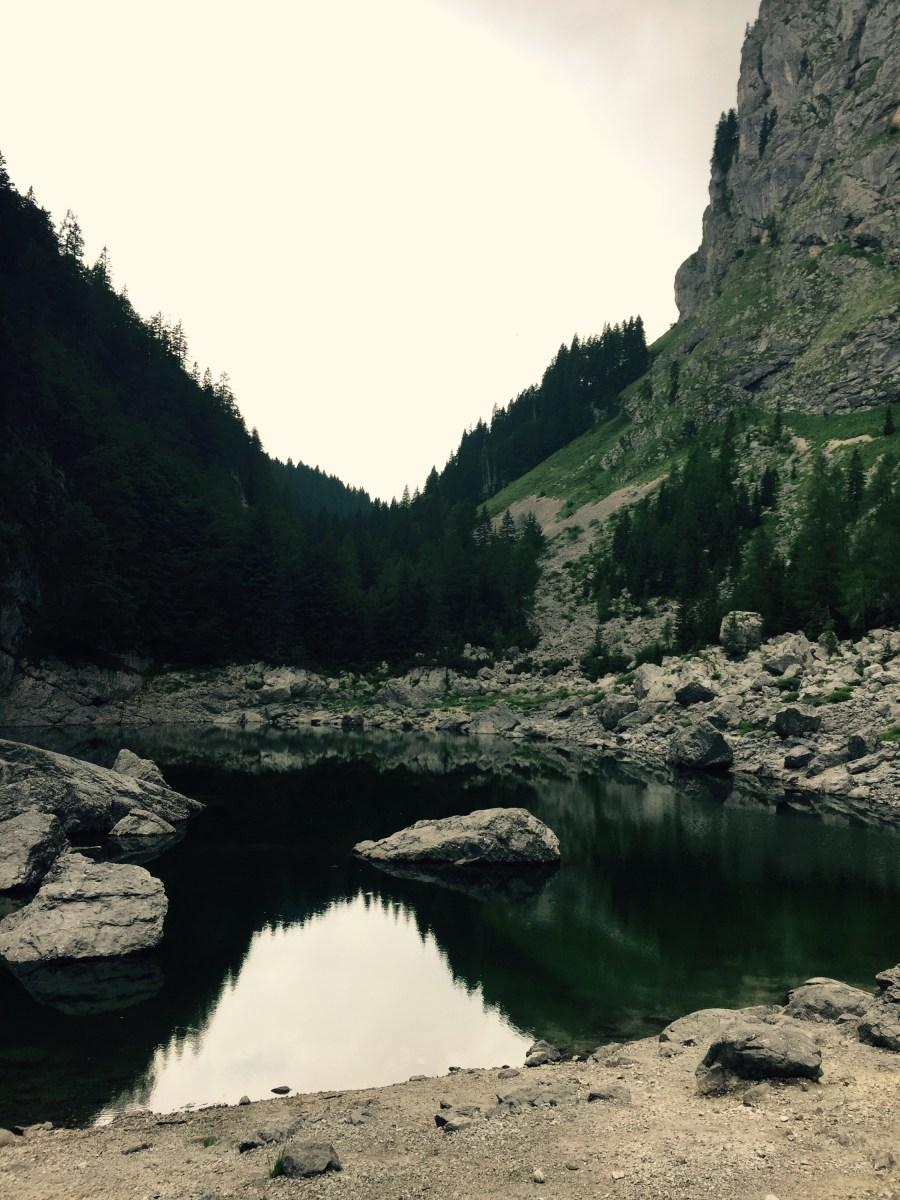 The Black Lake, Triglav National Park