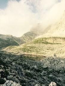 Invisible lake, Seven Lakes valley, Triglavski National Park