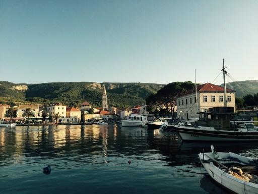Jelsa harbour, Hvar island