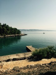 View to Vrboska, Croatia