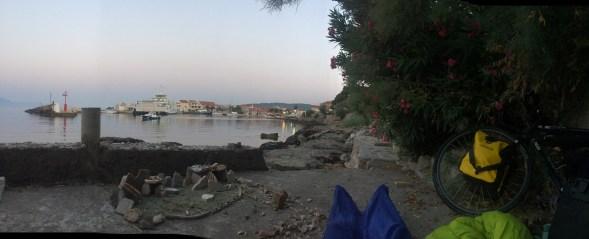 Sleeping spot, Sućuraj, Hvar