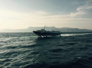 Hydrofoil, Corfu