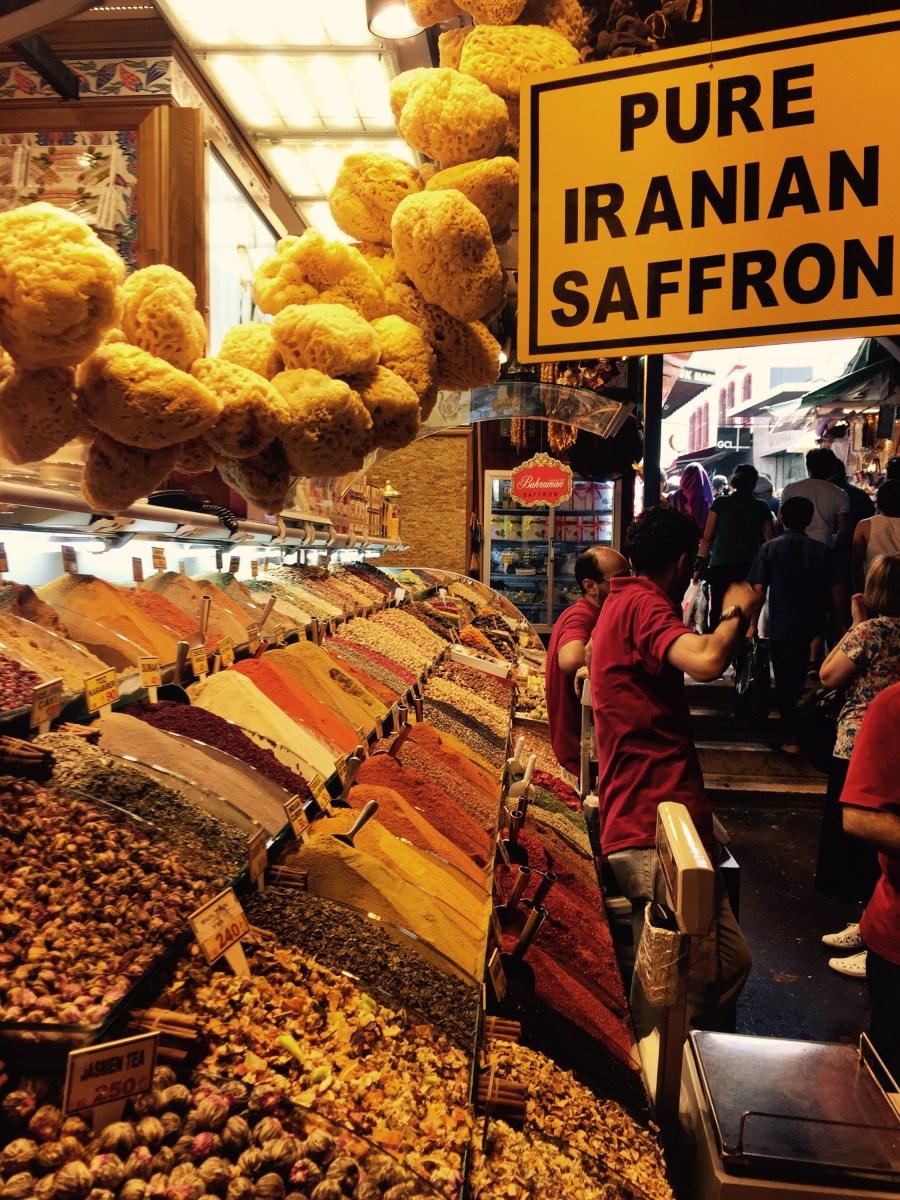 The spice bazaar of Istanbul