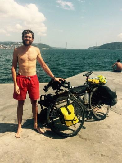 Paul Ferguson, ride across Europe to Istanbul