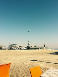 Warship, Submarine and helicopter, Izmir Turkey