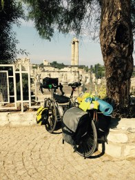 Bike by the Temple of Apollo, Didim Turkey
