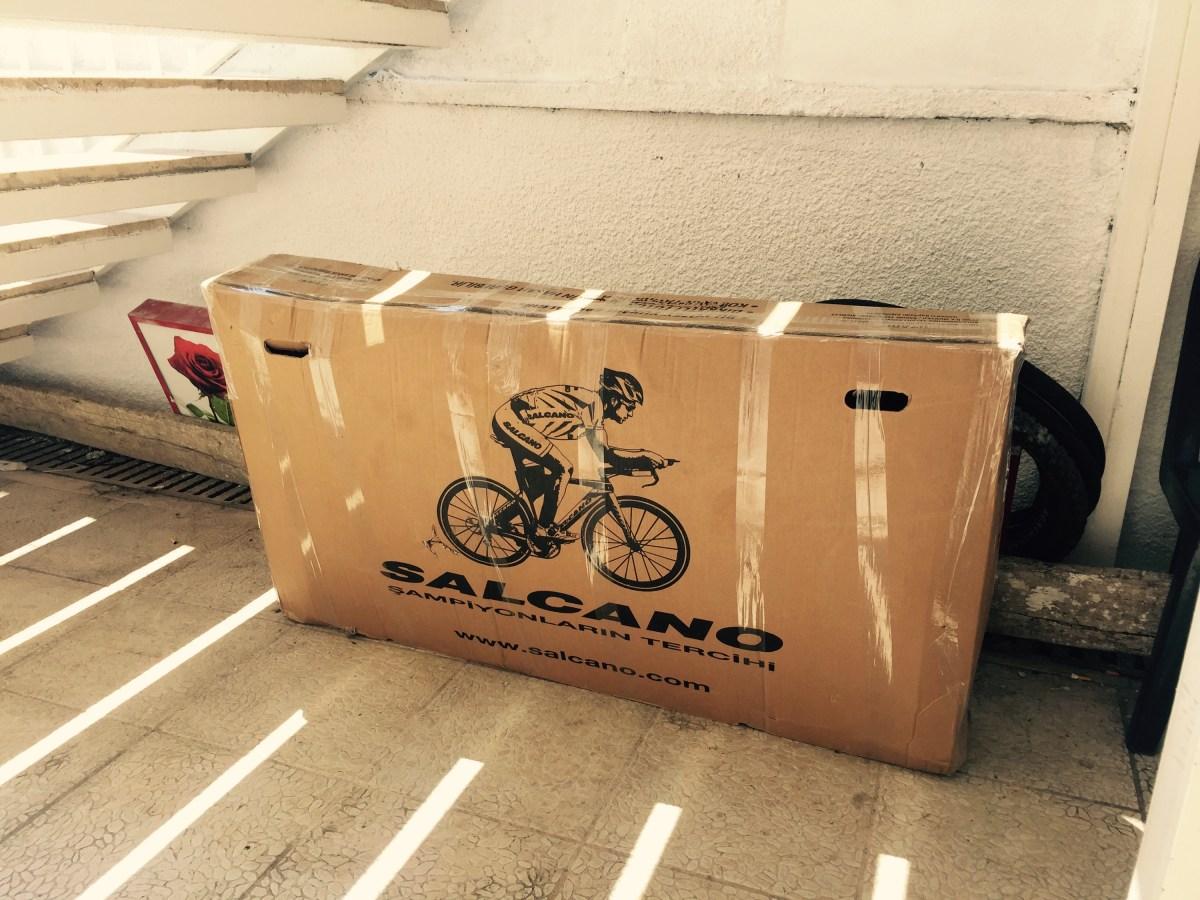 Boxed touring bike, Velomaris - Marmaris Turkey