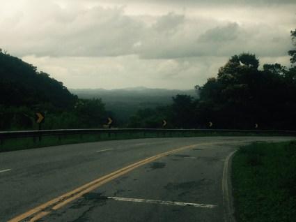 View towards Iguape, Brazil