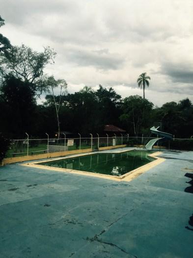 Prudentópolis campsite swimming pool, Paraná, Brazil