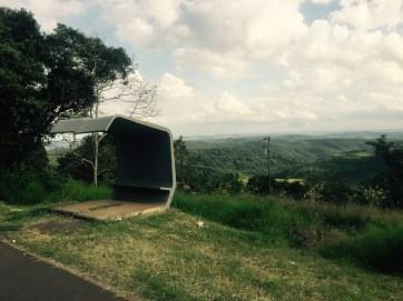 Bus stop, Paraná, Brazil