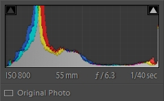 original histogram