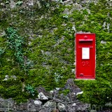 Post box in Devon, fine art photographer urban photography herefordshire 2109