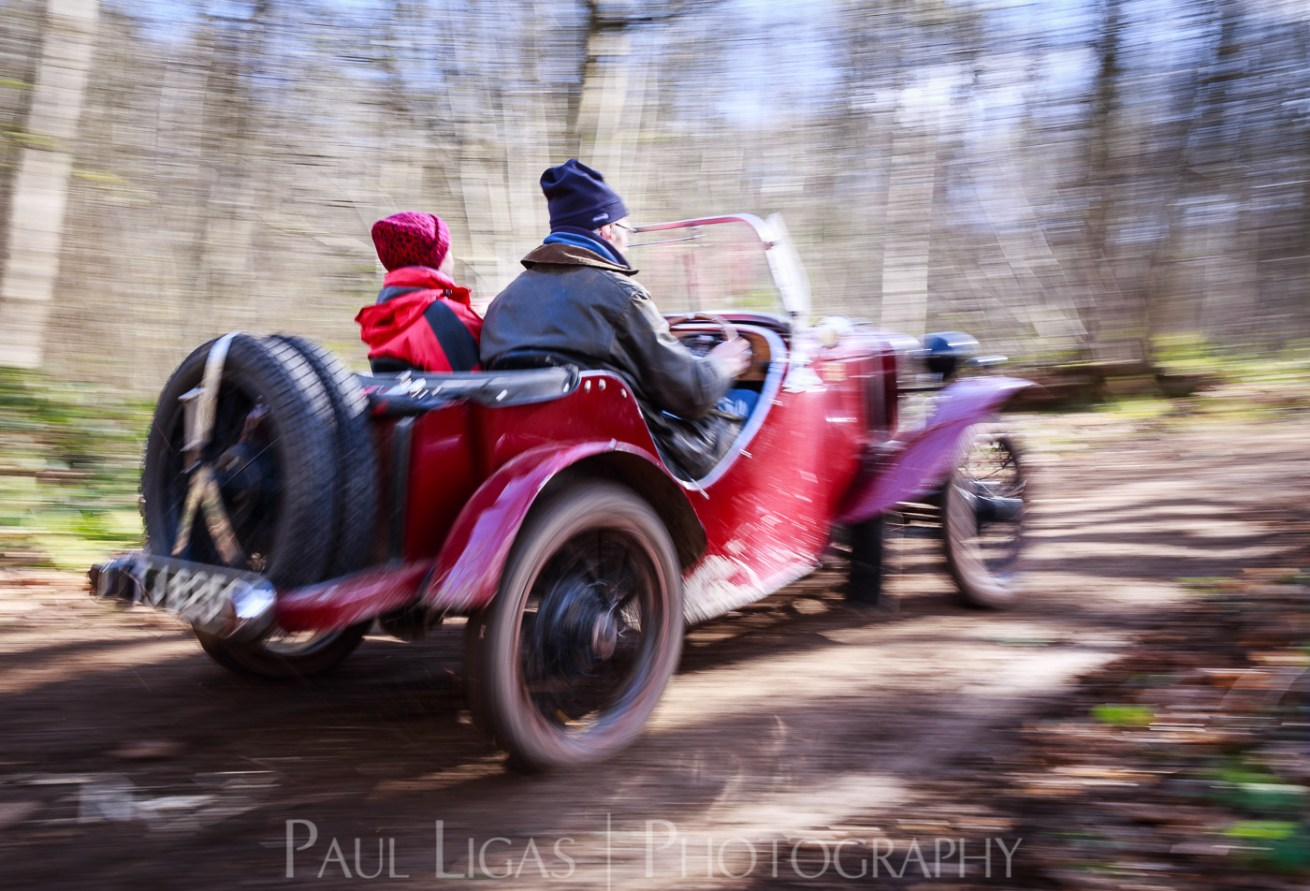 Vintage car hill climbing, Ledbury, Herefordshire event photographer photography 9363