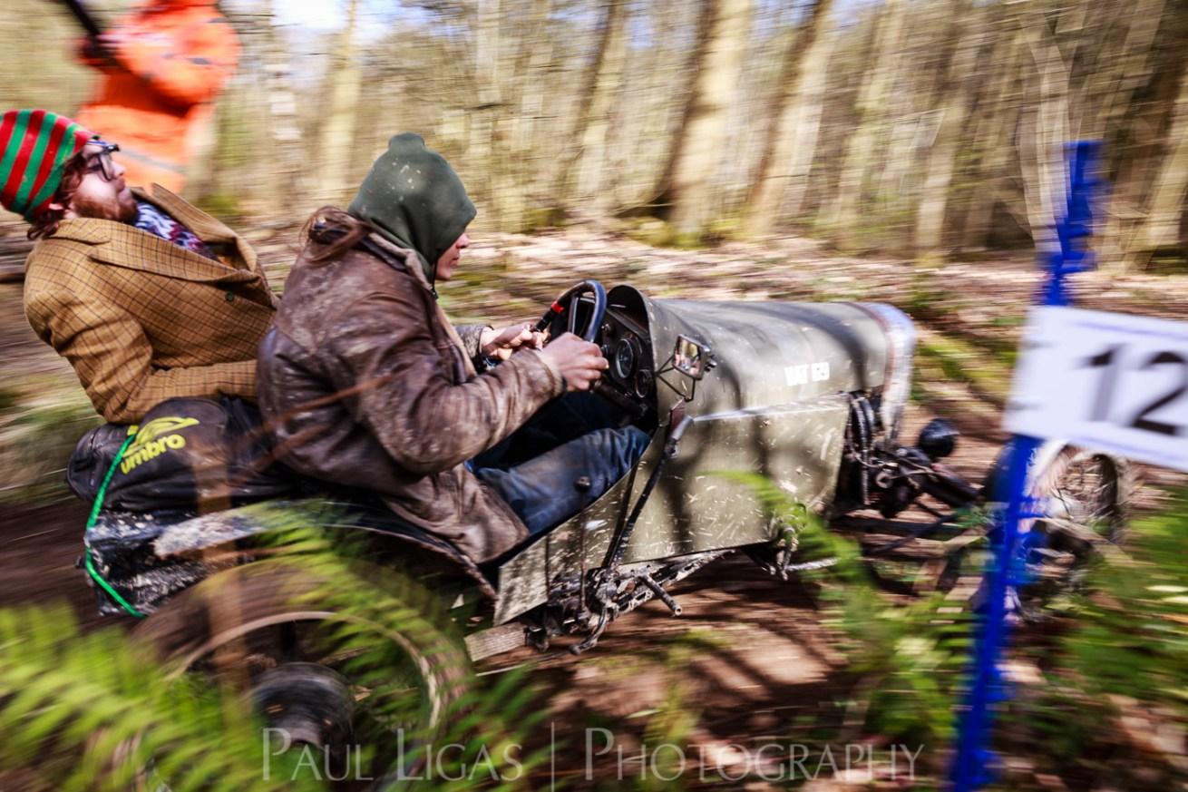 Vintage car hill climbing, Ledbury, Herefordshire event photographer photography 9423