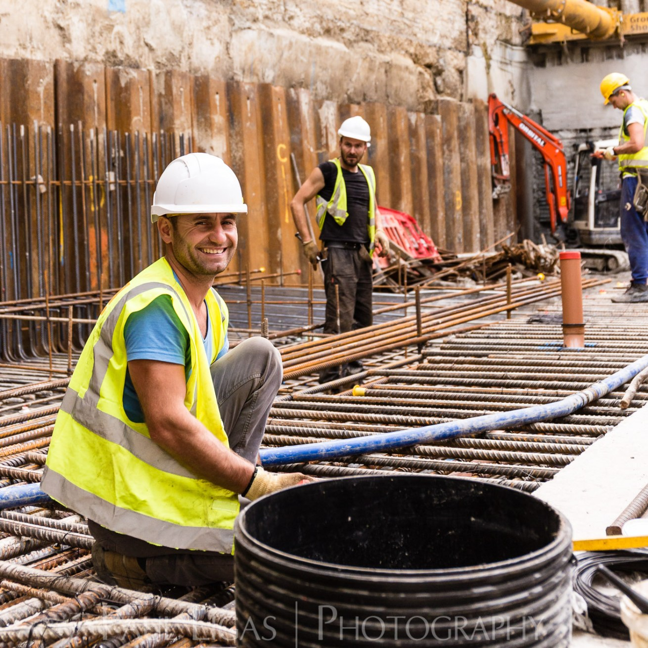RGB Group, Construction site, Bethnal Green, London construction portrait photographer photography herefordshire 6014