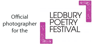 Official Photographer for the Ledbury Poetry Festival