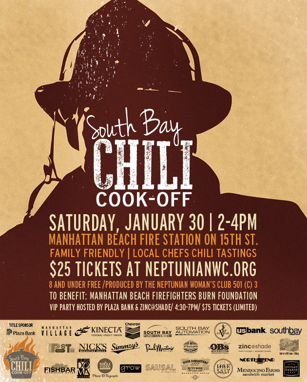 South Bay Chili Cook Off - Paul Martin's American Grill
